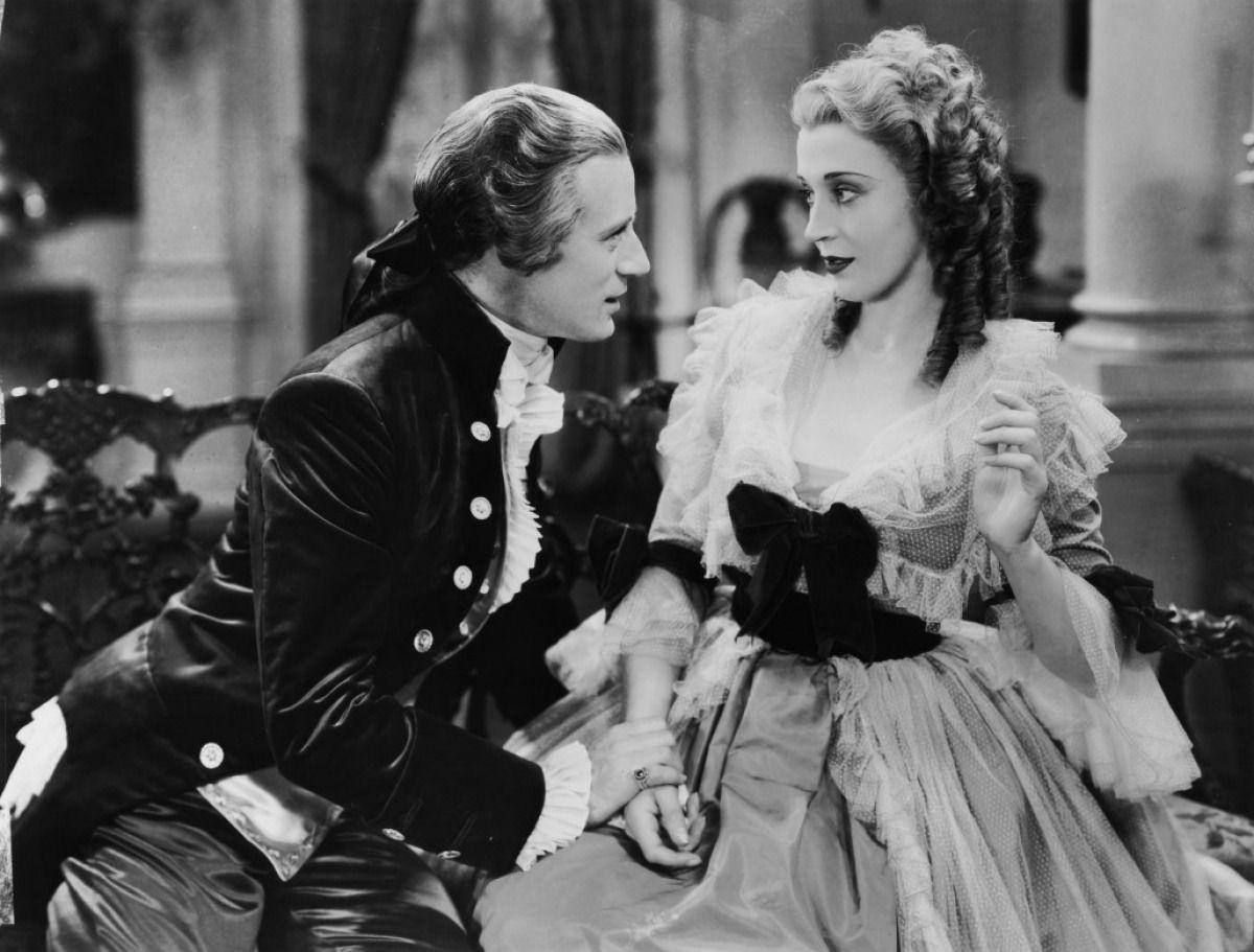 "Leslie Howard and Valerie Taylor in ""Berkeley Square"" (1933)"
