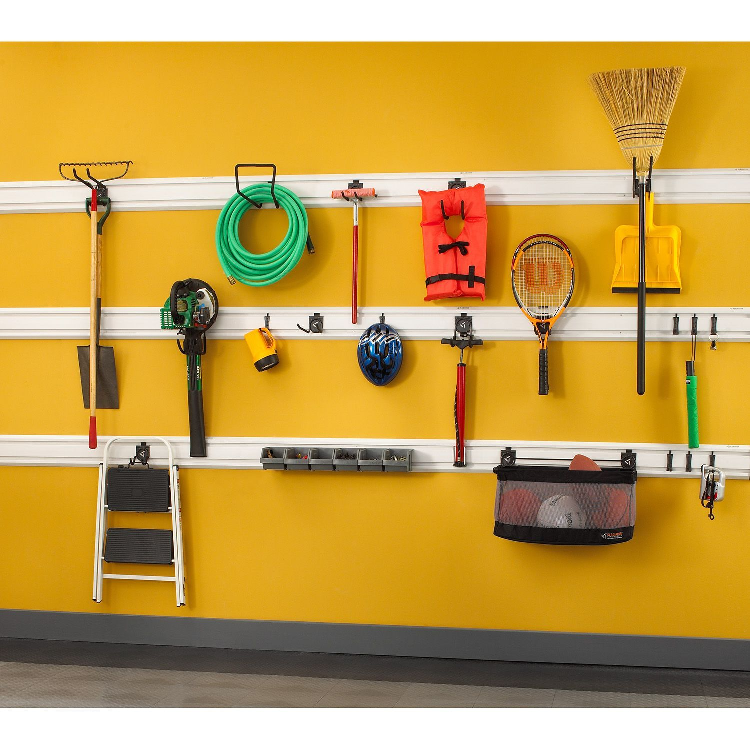 Gladiator Garage Wall Storage Accessory Kit 2 for GearTrack or ...