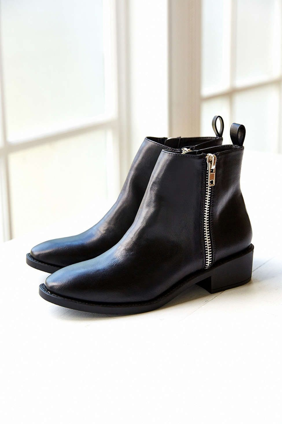35525c2cb8 Monty Two Zipper Boot - Urban Outfitters | Shoes Shoes Shoes ...