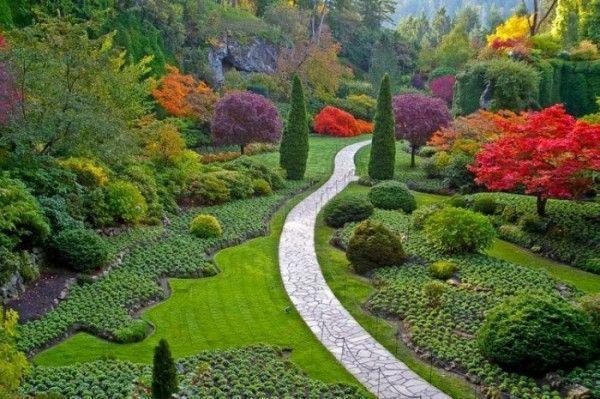 Jardines Butchart (Canadá) Los jardines más bellos del planeta