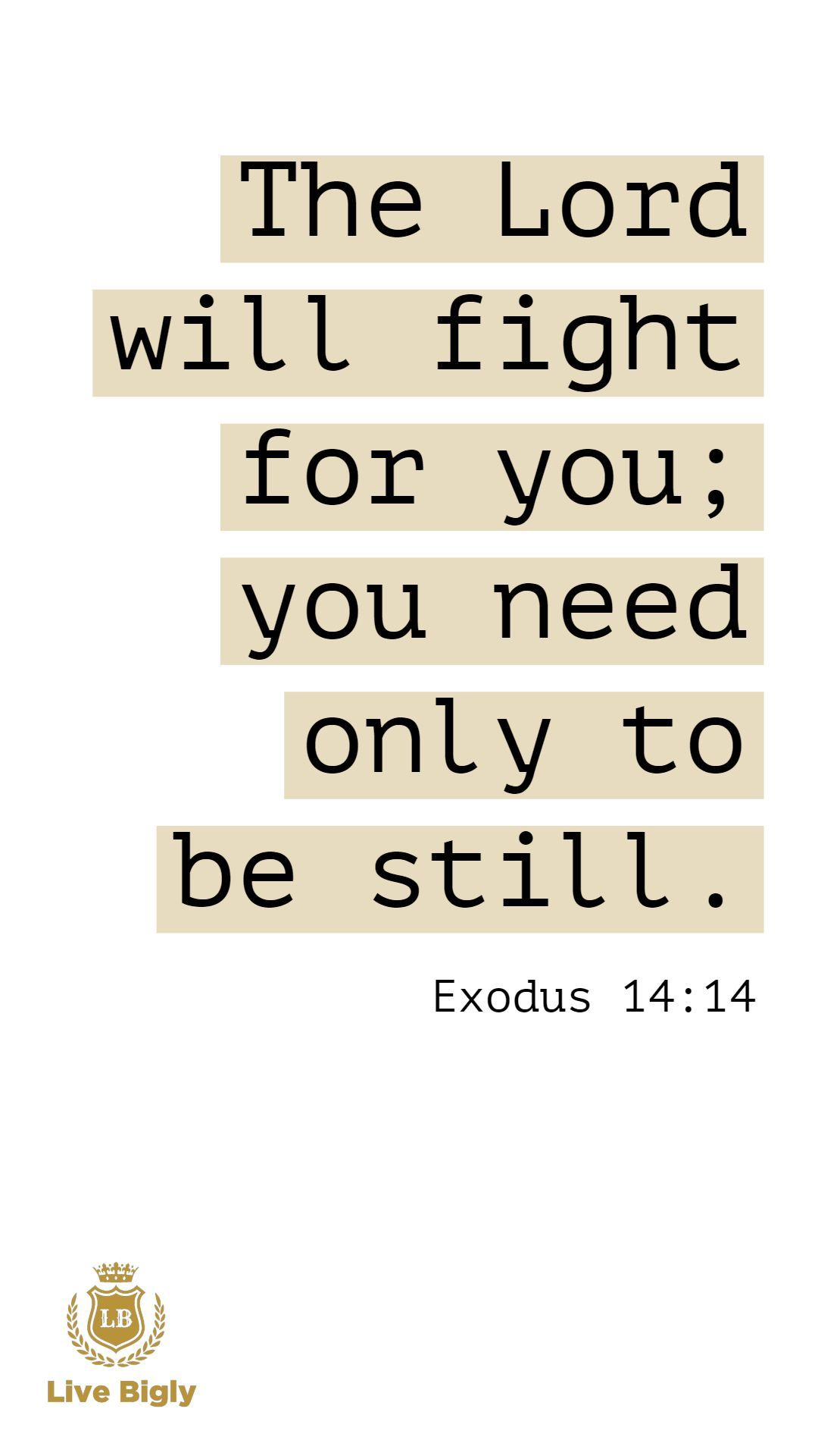 God Will Fight For You Bible Livebigly Life Affiliate Quote