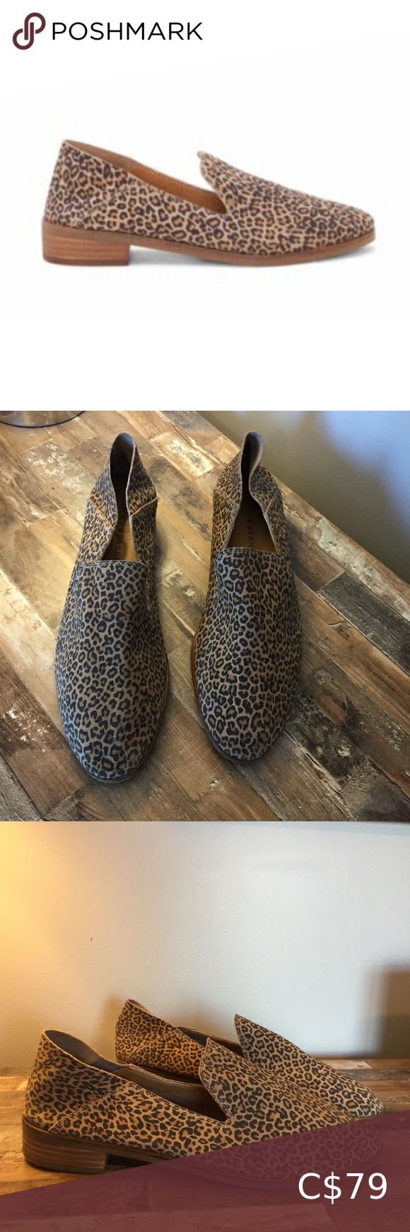 Lucky Brand Leopard Loafers