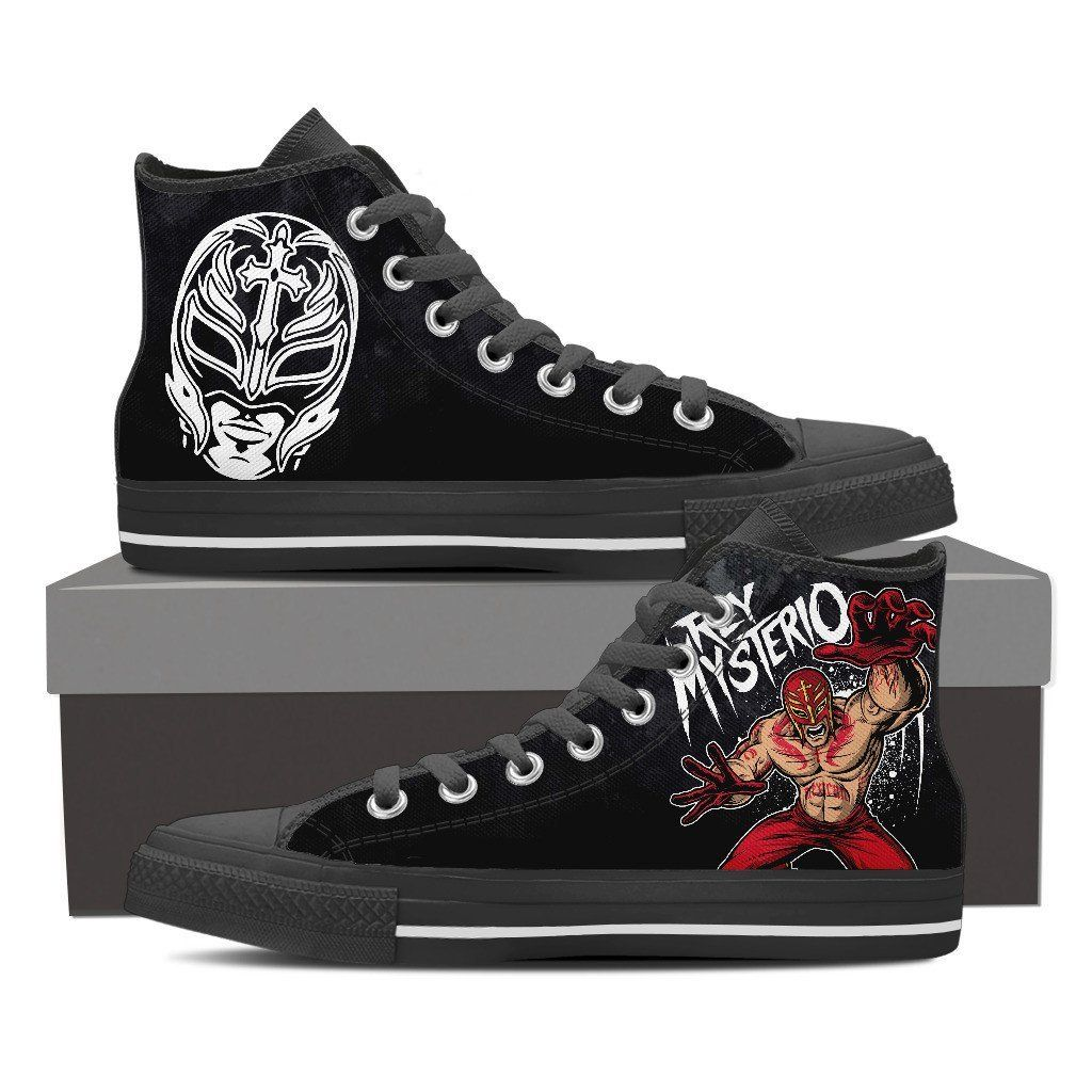 WWE - Rey Mysterio Custom Shoes