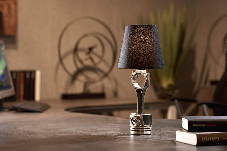 Tischlampe Kolben-Pleuel 8 V E8 8W LED Design Lampe: Amazon.de