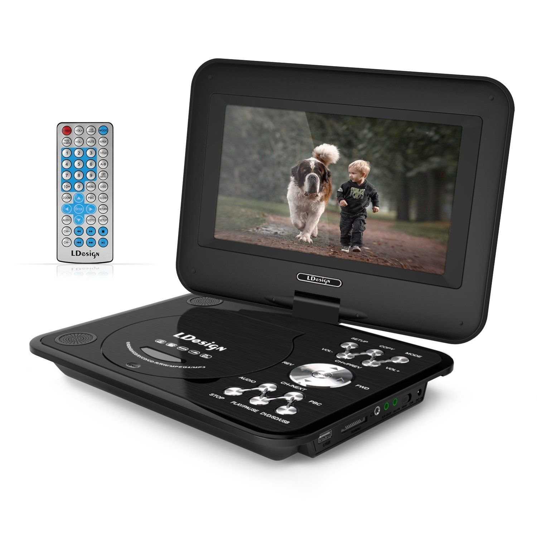 9 5 Inch Portable Dvd Player Ldesign Headrest Hi Tec