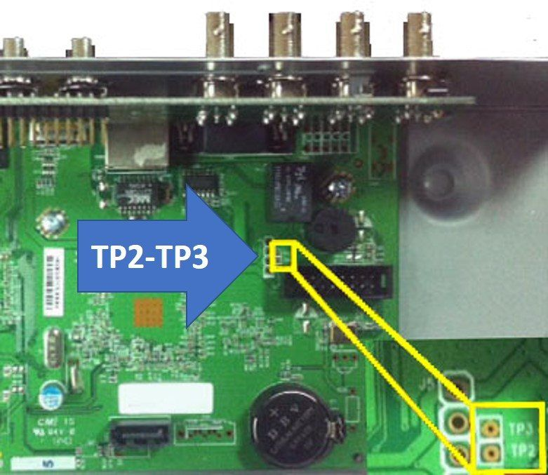 How to reset H 264 Network DVR | CCTV Troubleshooting | Electronics