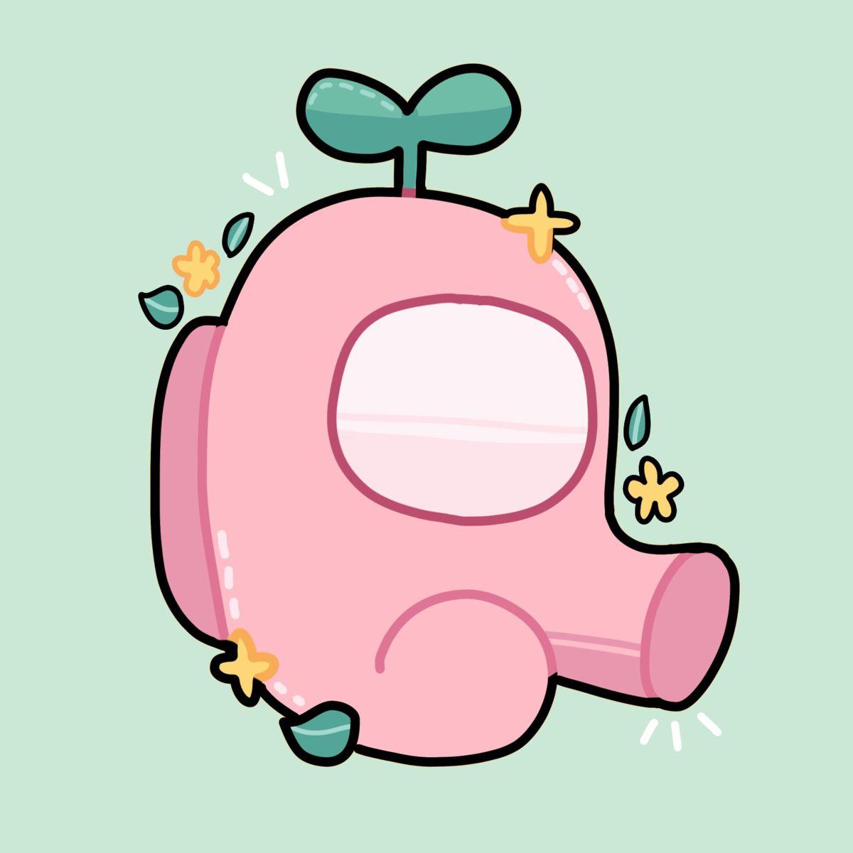 Save Follow Amongus Amongusfanart Cute Drawings Cute Cartoon Wallpapers Cute Patterns Wallpaper