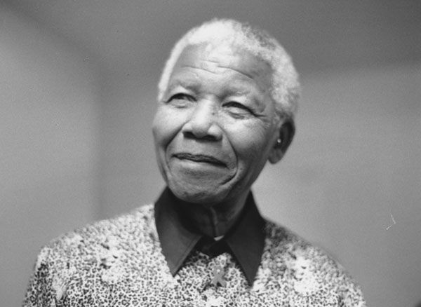 """Our human compassion binds us the one to the other - not in pity or patronizingly, but as human beings who have learnt how to turn our common suffering into hope for the future."" #NelsonMandela"