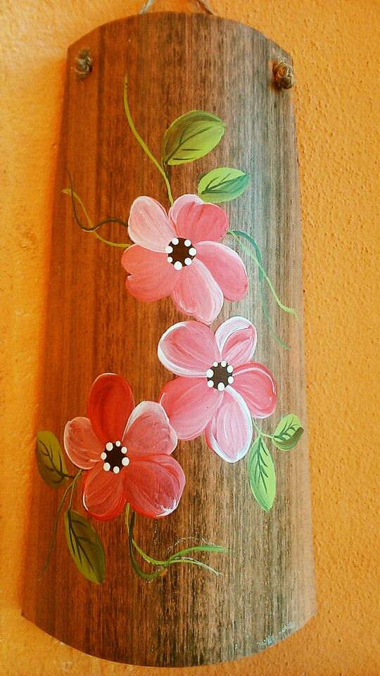 Teja pintada madera maryvy pinterest - Dibujos para pintar en tejas ...