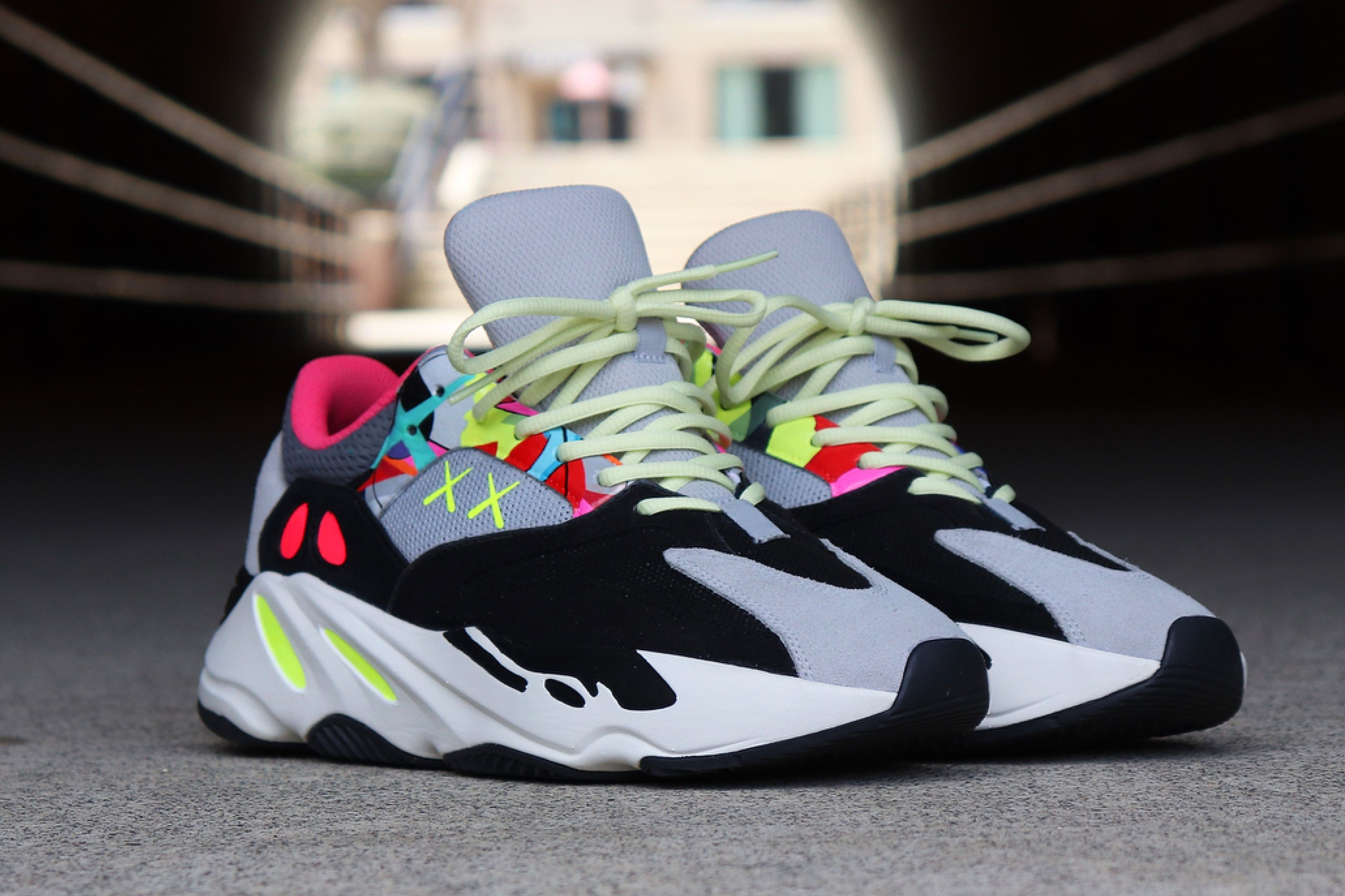 info for b1756 0b431 Custom KAWS x YEEZY BOOST 700