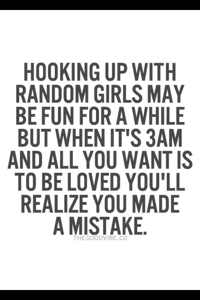 Hooking up quotes