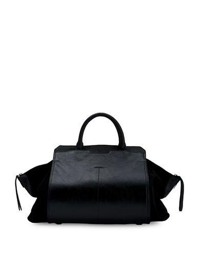 a41c38258d90 Liebeskind Berlin Nagano Textured Leather Handbag Women s Black ...