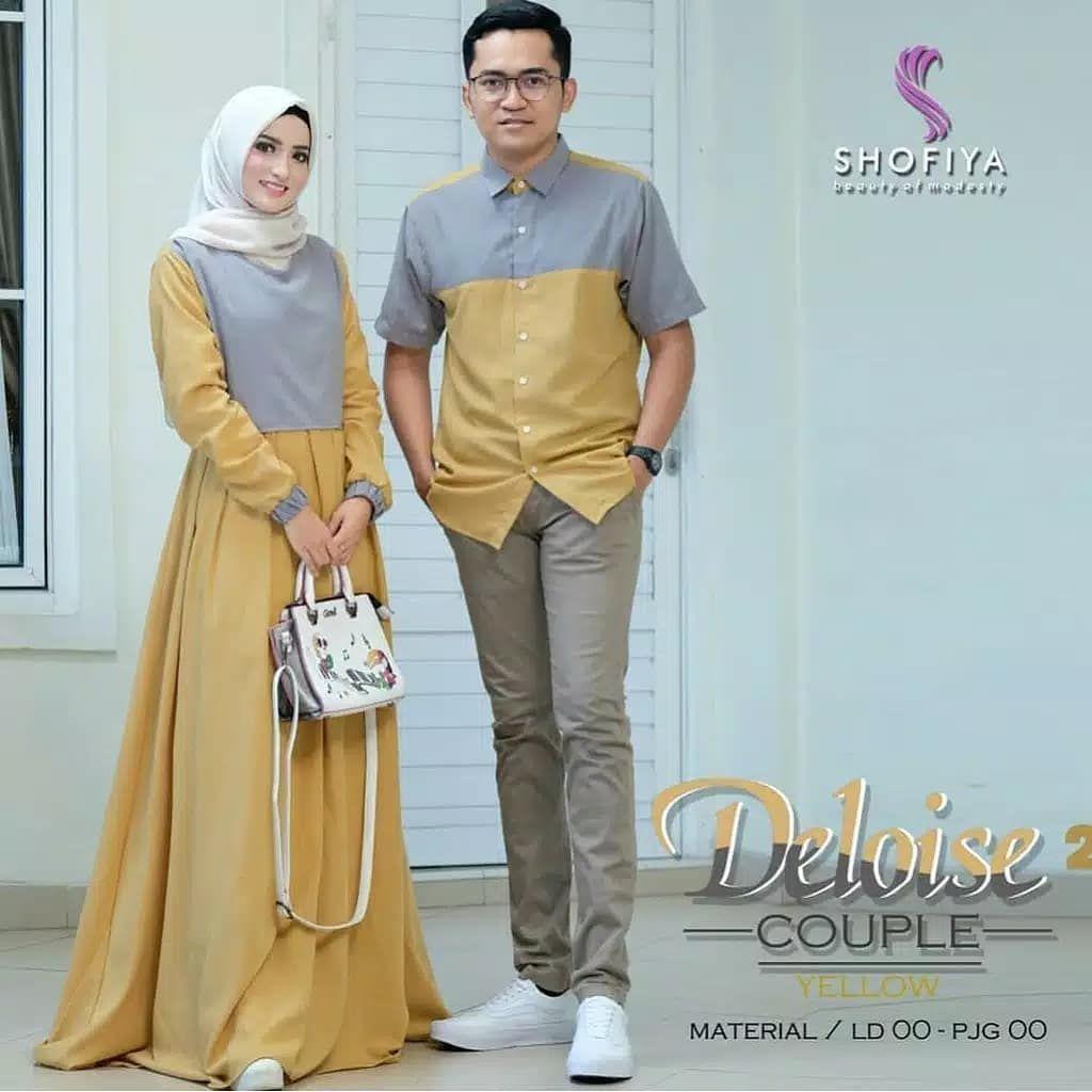 KETERANGAN:  Model pakaian baru, Gaya hijab, Pakaian model