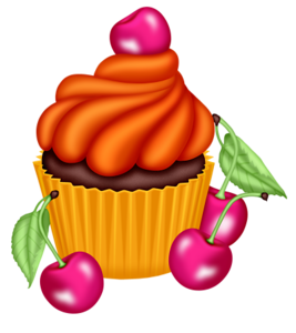 cupcake cute pinterest clip art cards and tole decorative paintings. Black Bedroom Furniture Sets. Home Design Ideas