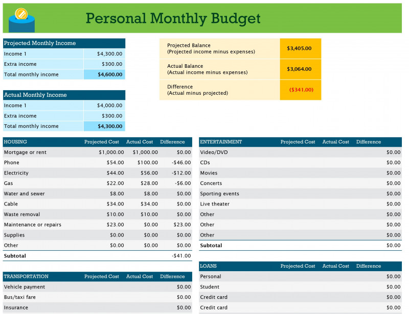 Expense Report Template Excel 2010 Professional Excel