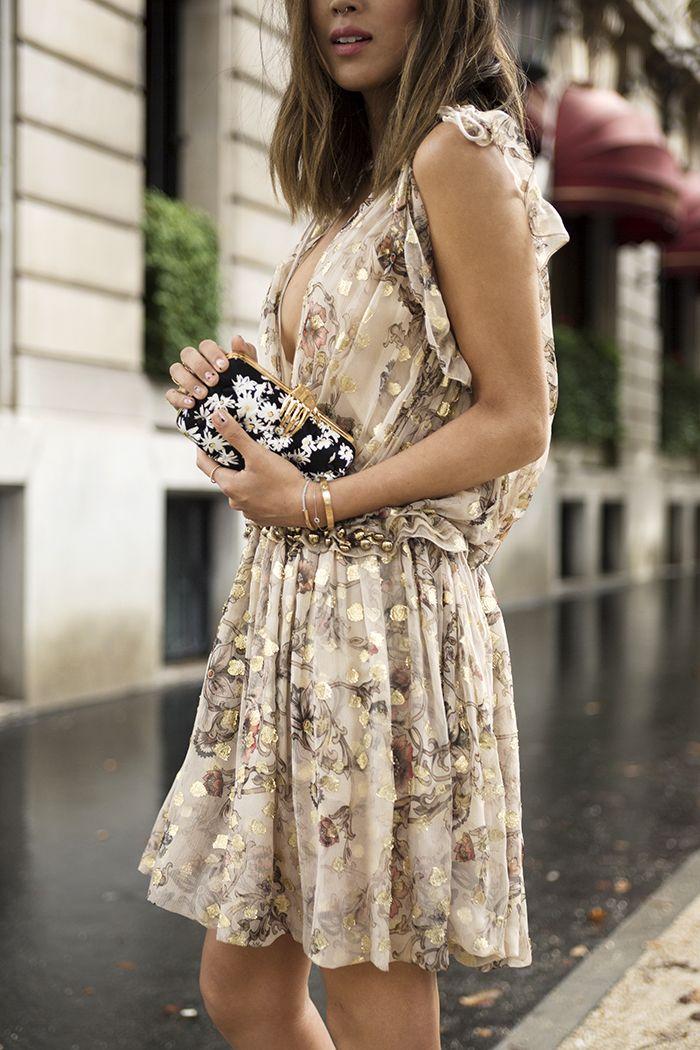 2f5554a53d3 Chloe Dress and Chanel Slingbacks