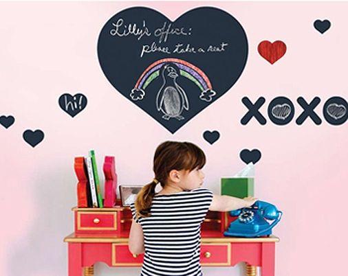 Chalkboard Heart Decal