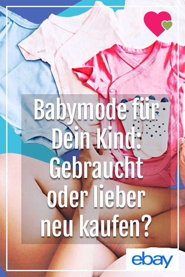 new product 552b9 b714b Neu vs. Second-hand: Ist gebrauchte Babykleidung ...