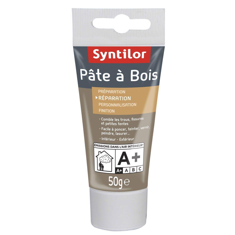 Pate A Bois Syntilor Naturel 50 G Pate A Bois Bois Et Chene Clair