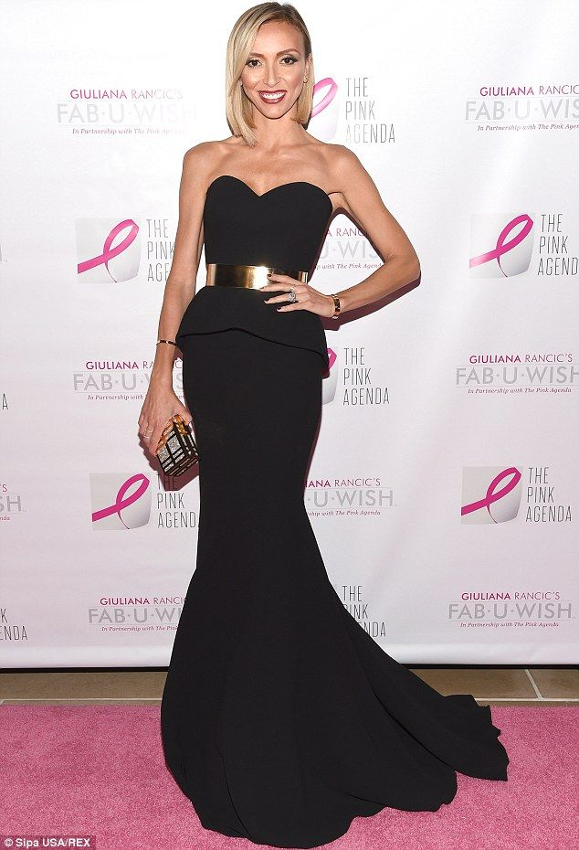 Giuliana Rancic stuns in gown at gala…looks city chic next day in ...