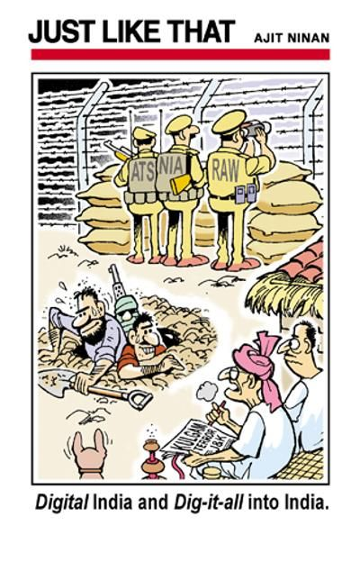 Political Cartoons Rumor Jokes Pictures Times Of India Digital India Times Of India Cartoon