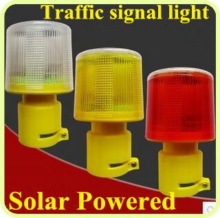 Led Solar Powered Road Safety Traffic Warning Lights Signal Lights Emergency Lights Warning Beacon Alarm Lamp Waterpr Warning Lights Emergency Lighting Red Led