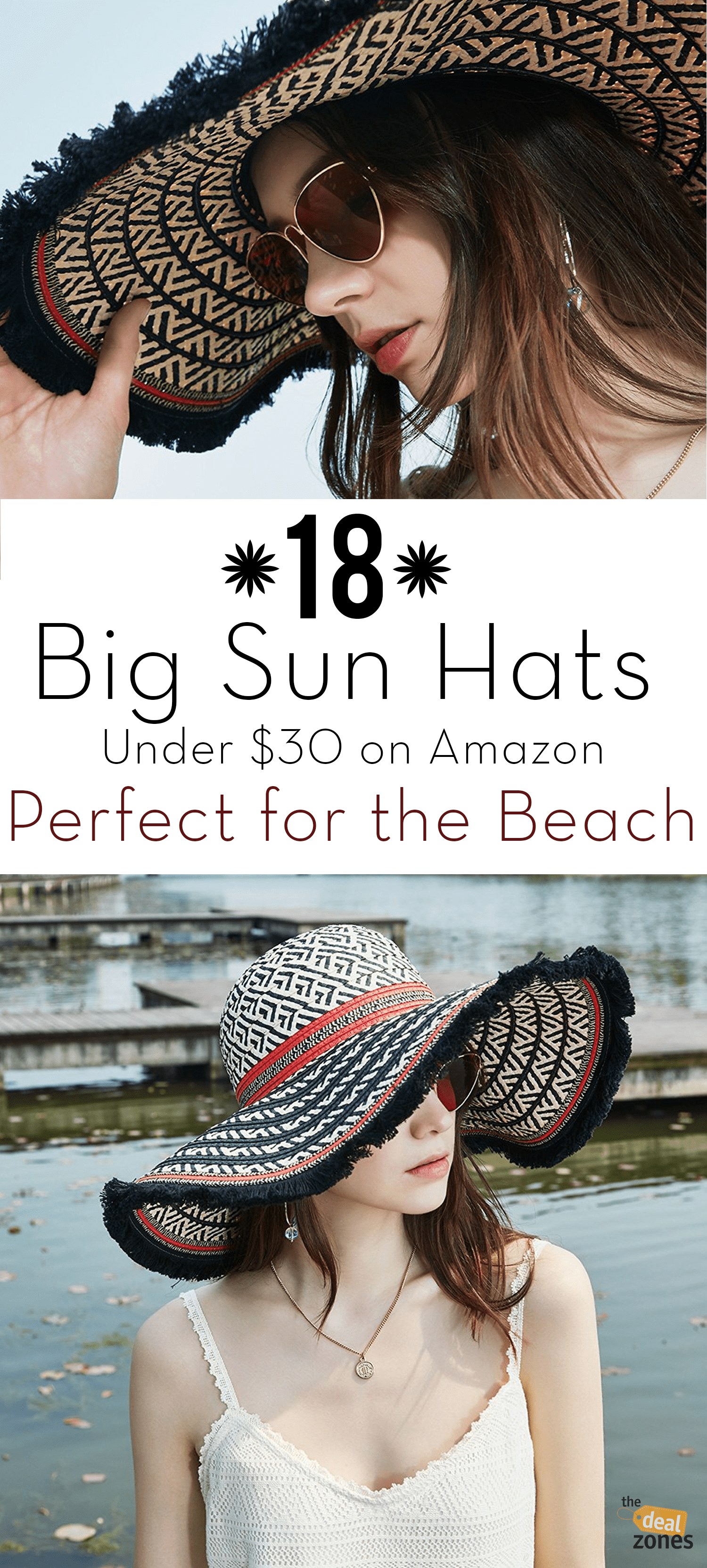 18 Big Sun Hats Under  30 on Amazon Perfect for the Beach  bigsunhats   stylishsunhats 1a19cc5b4d4