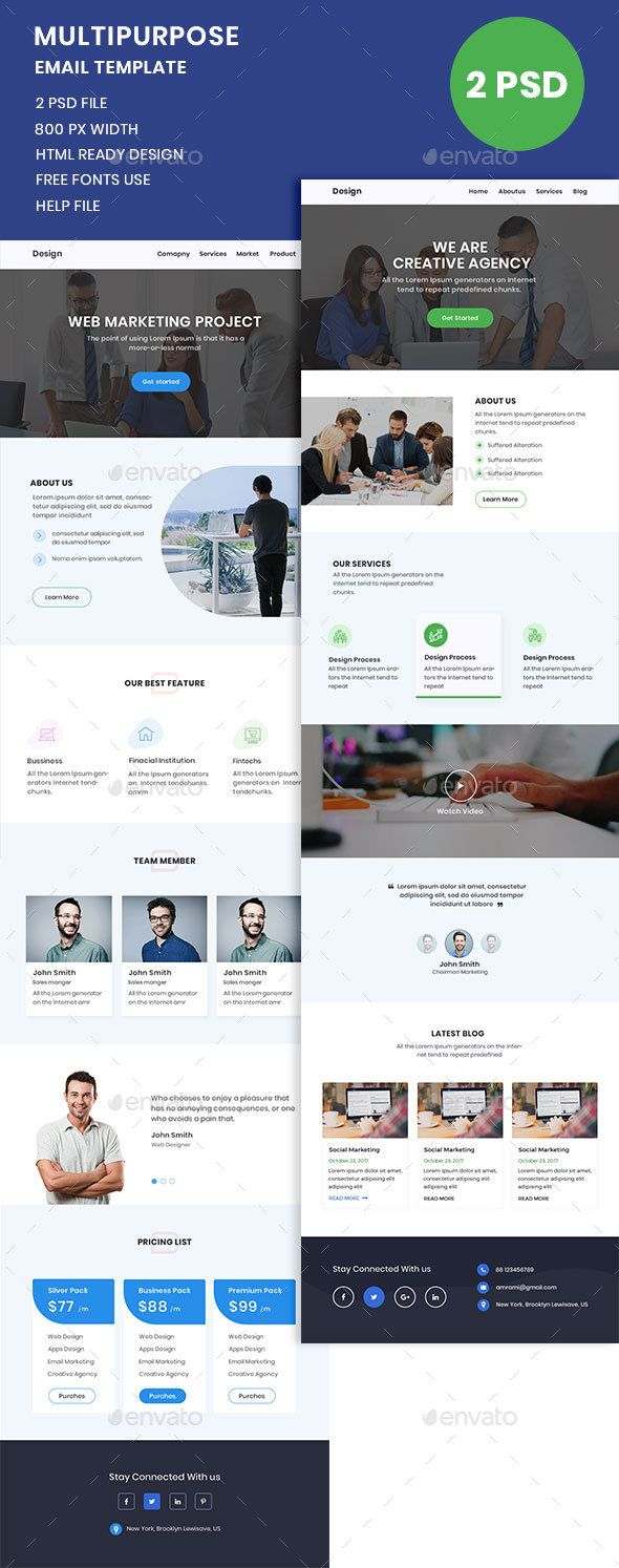 Minimal email template psd e newsletter templates pinterest minimal email template psd spiritdancerdesigns Choice Image