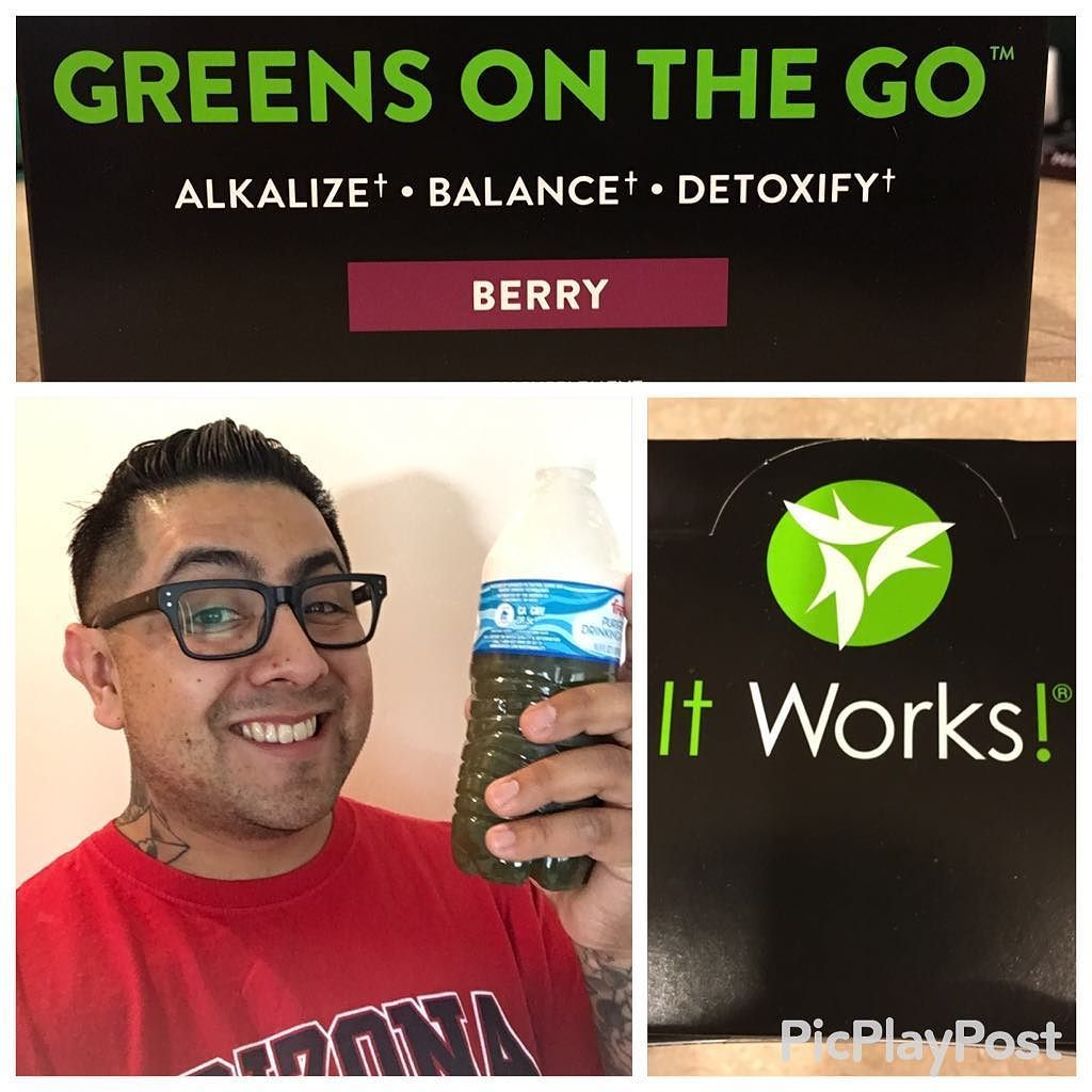 I've gone GREEN!  I can't thank @deannavee enough for introducing me to this AMAZING product!! #Fitness #Swolemates #SummerBody #Fitspo by munstrr_tattoos