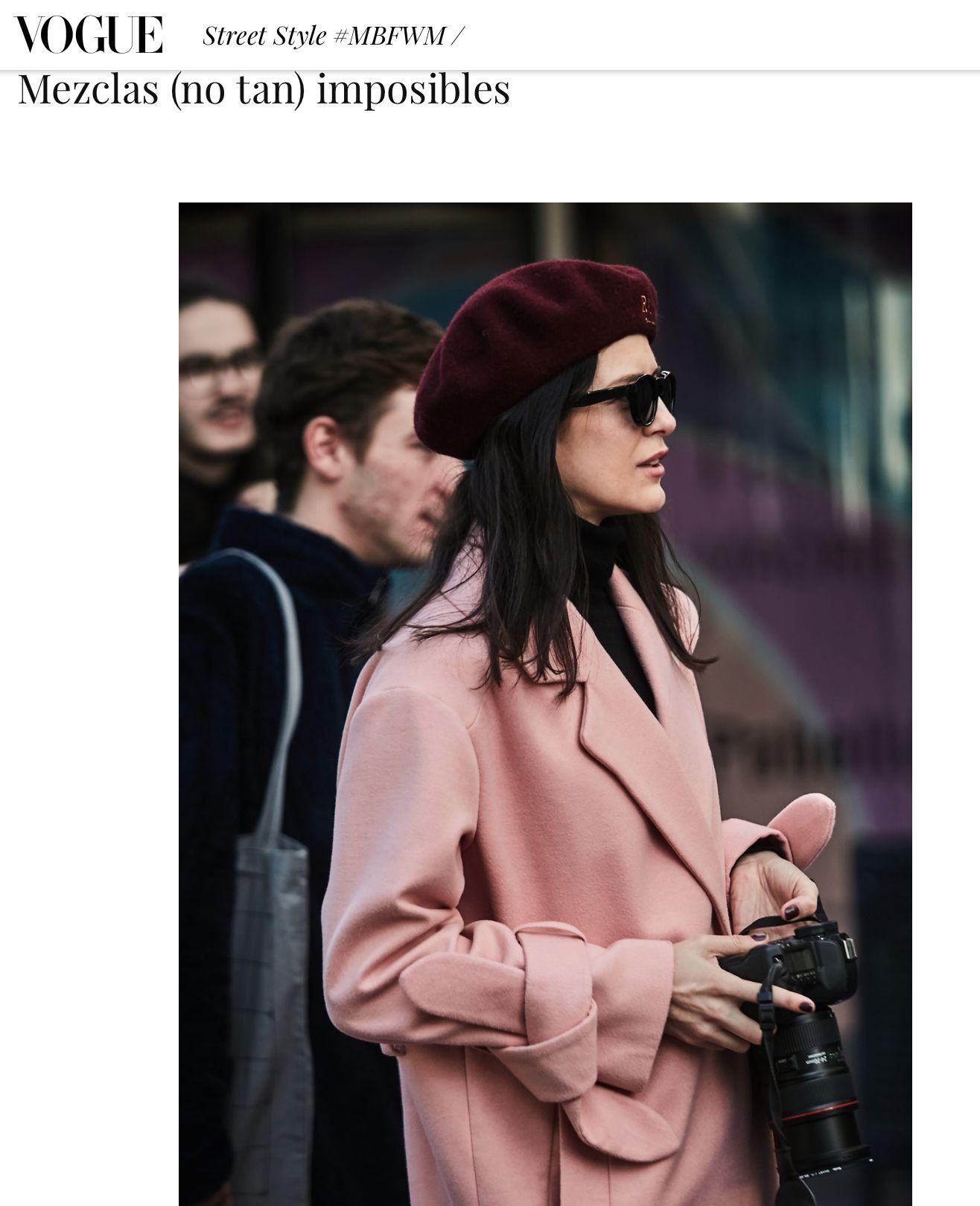 Vogue / MBFWM Madrid / Rosa Copado