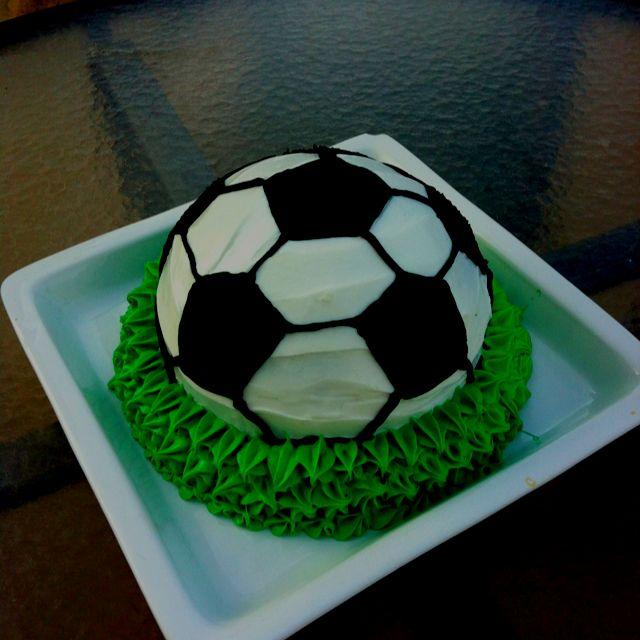 Soccer Themed Cake No Fondant Themed Cakes Cake Grooms Cake