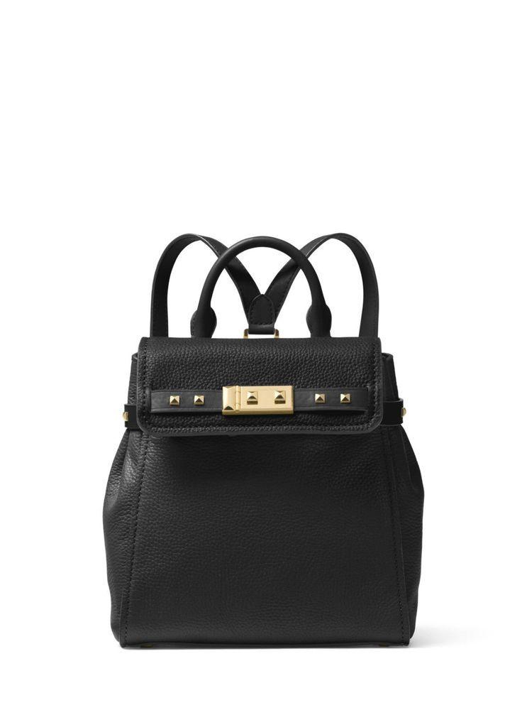 NWT Michael Kors Mercer Leather Colorblock Medium Messenger Crossbody Bag 6880091ea0