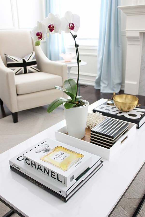 Large Tray For Ottoman Styling Ideas Coffee Table Books Decor Coffee Table Inspiration Coffee Table