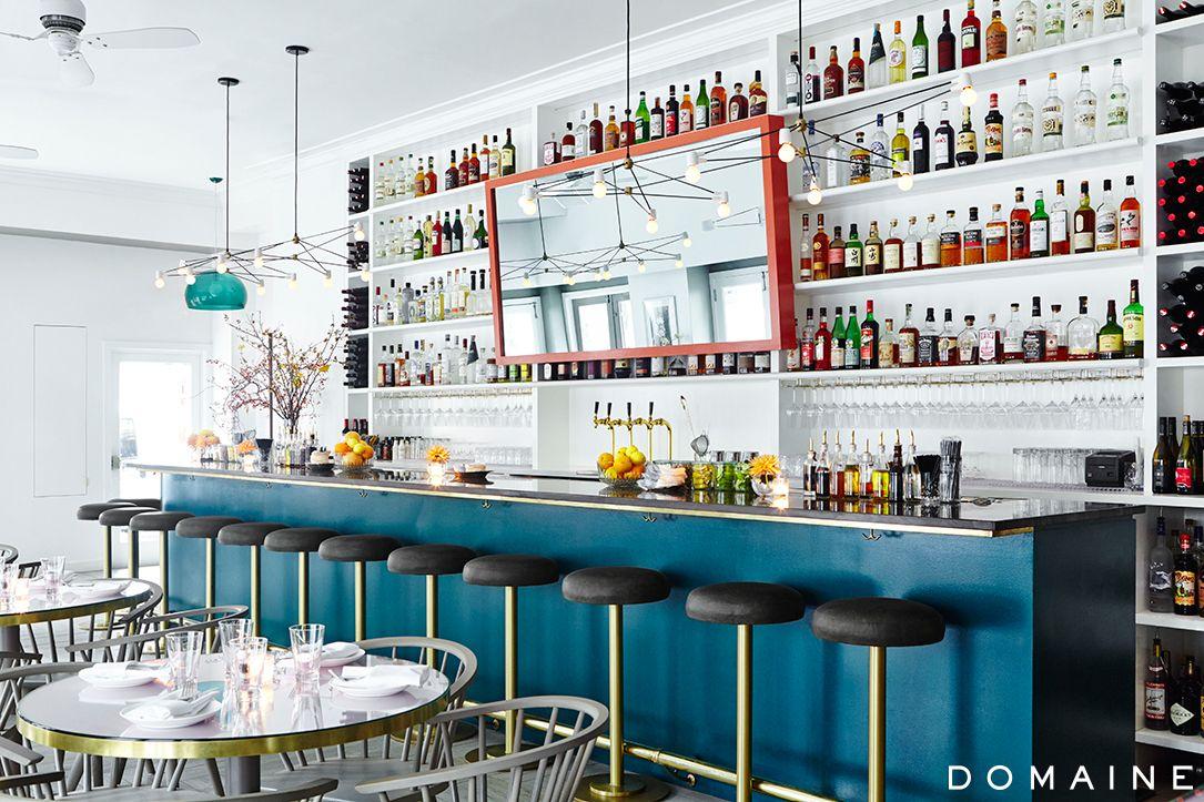 Bar Interiors Design Painting Restaurant Interior  Bar Design  Nyc Gastropub  Bar Stool .