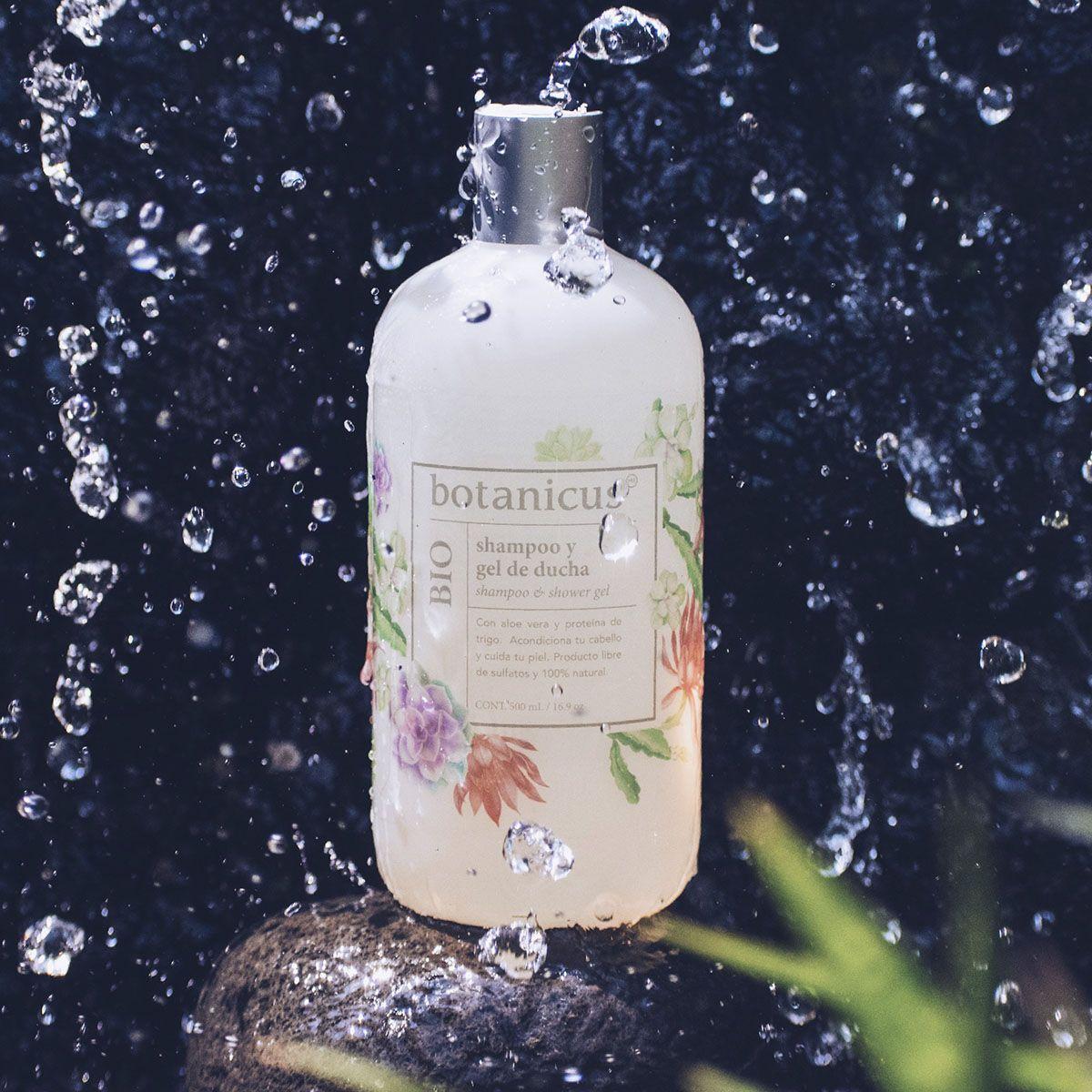Shampoo Y Gel De Ducha Bio Gel De Ducha Hidratar El Cabello Y