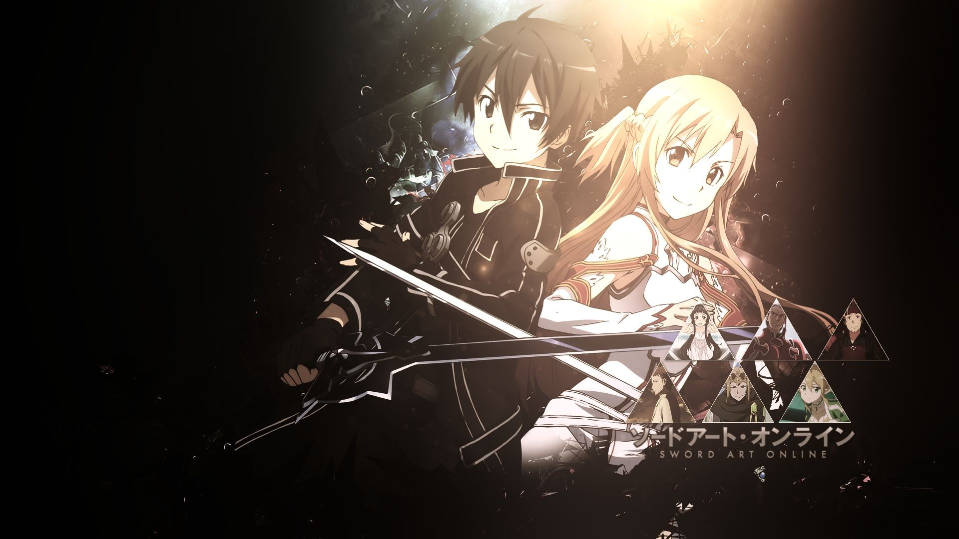Kirito Asuna Sword Art Online Sword Art Online Wallpaper Sword Art Online Asuna Sword Art Online