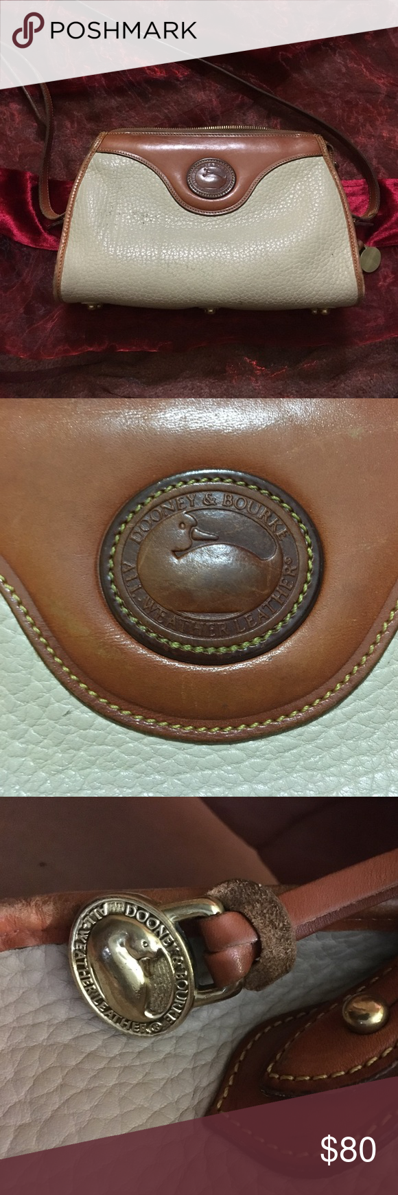 Dooney & Bourke Vintage Purse ! Vintage Dooney & Bourke Handbag. Medium Size. Refurbished.💋 Dooney & Bourke Bags Shoulder Bags