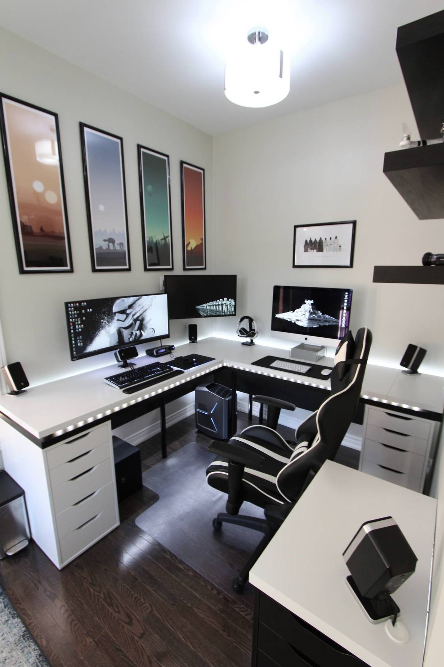 7 Inspiration Home Office Desk ( The Most Comfortable Work Desk ...