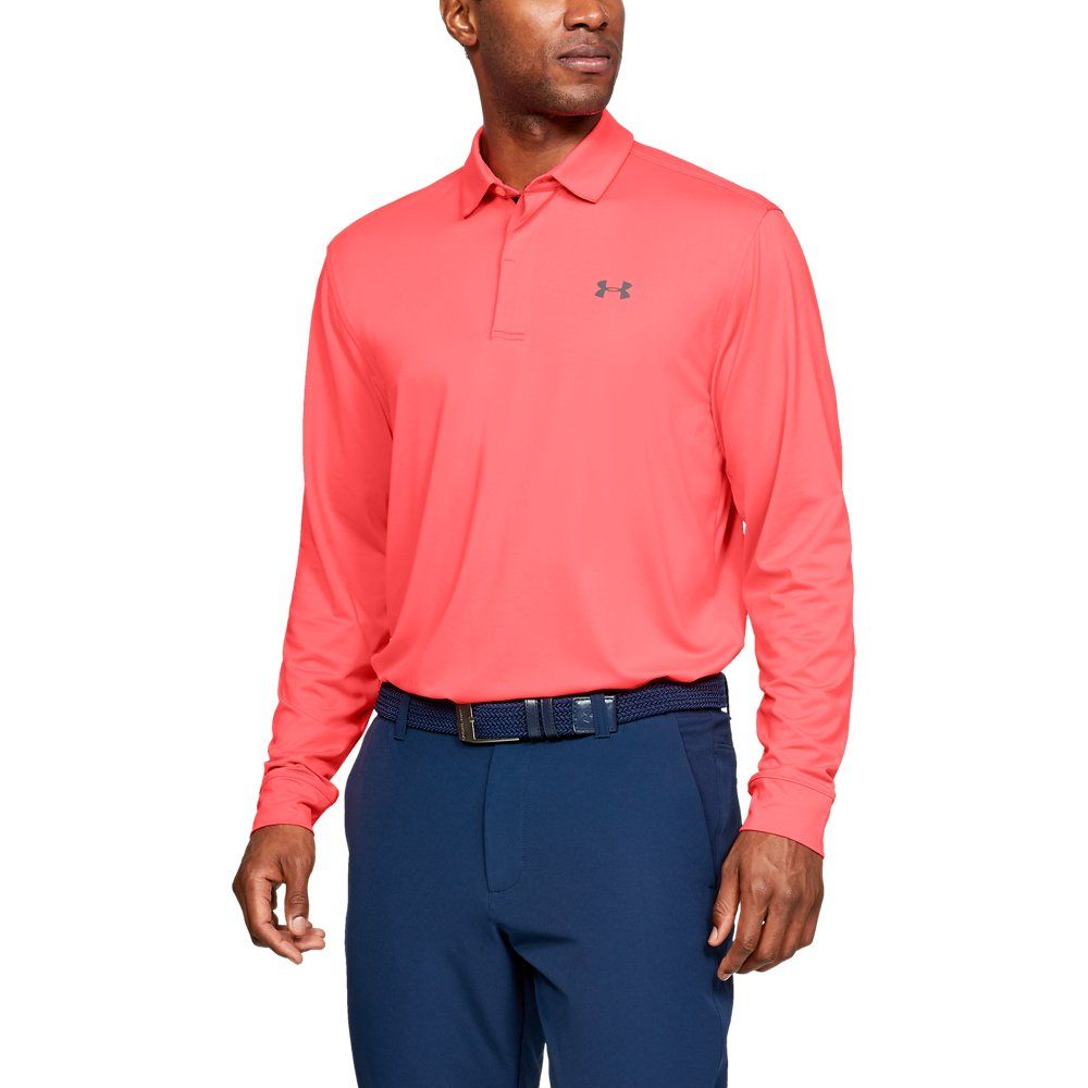 be94a715c4 Men's UA Playoff Long Sleeve Polo in 2019 | Products | Golf polo ...