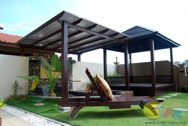 Roof Top Designs In Malaysia Google Search Outdoor Awnings Pergola Pergola Cost