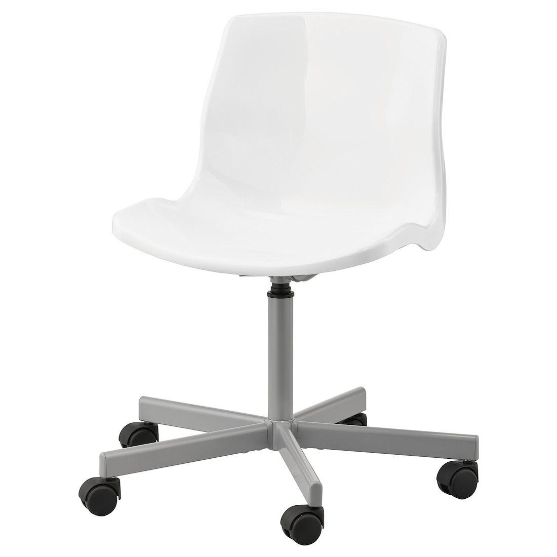 SNILLE Chaise pivotante - blanc - IKEA  Chaises pivotantes