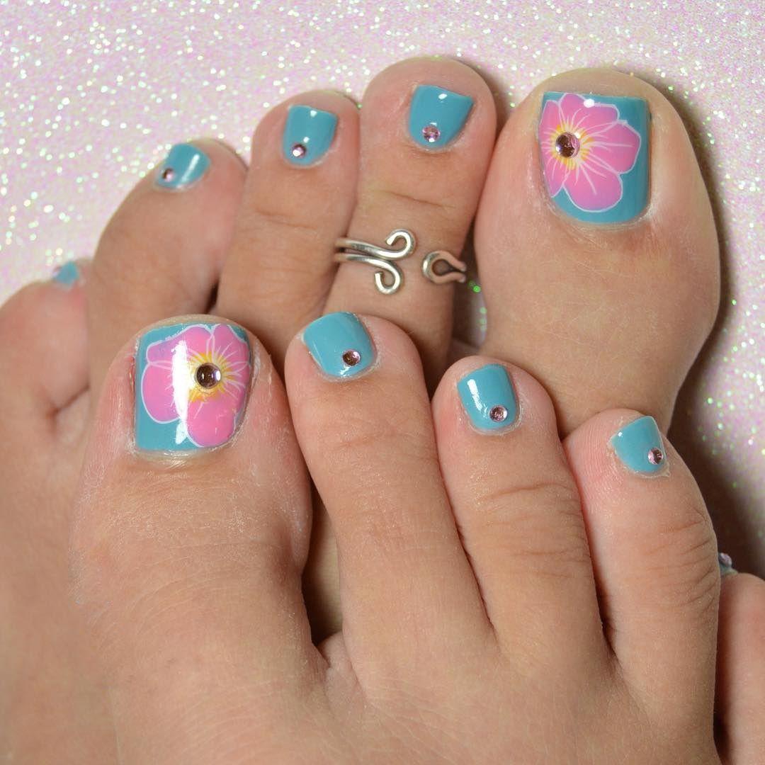 30+ Ideas for Toenail Art Designs - Gorgeus Pedicure Nail Art New ...