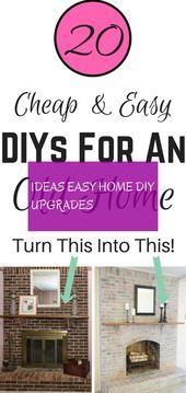 Photo of Ideen einfach nach Hause diy Upgrades | ideen easy home diy upgrades | Ideenfaci…