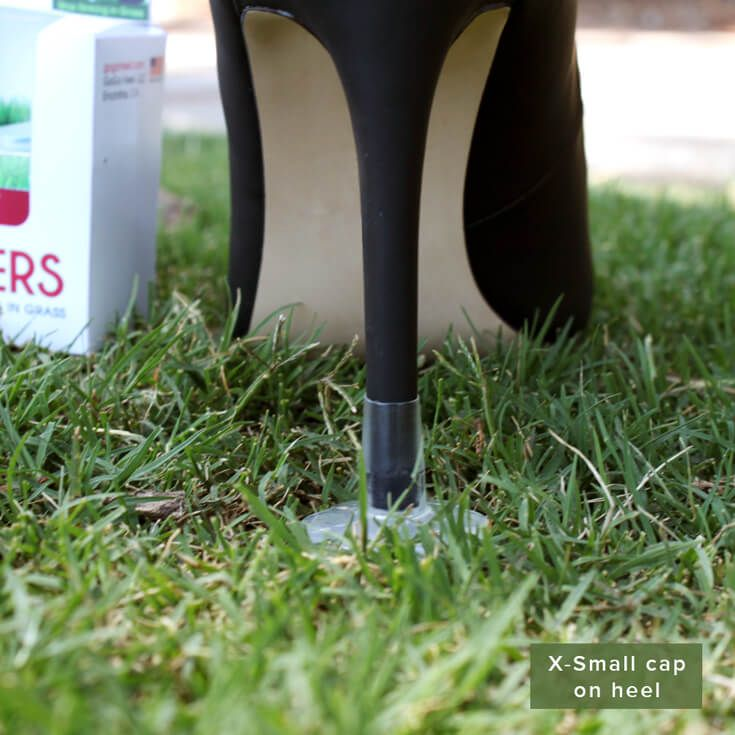 8cc13c8c2e5 STOPPERS Heel Protectors - Stop Sinking into Grass