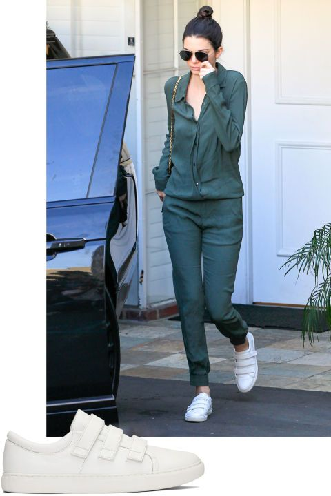 best sneakers e81f2 c0ed6 From Kendall Jenner s velcro strap sneakers to Cara Delevingne s chic  eyewear, here are our favorite celebrity styles to shop now