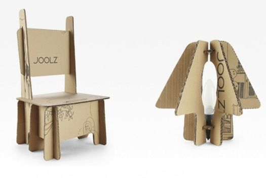 Stroller Packaging Can Be Made Into A Chair Lampshade