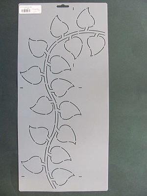 Stencil Quilting El75 Philodendron Border Design Paint Craft