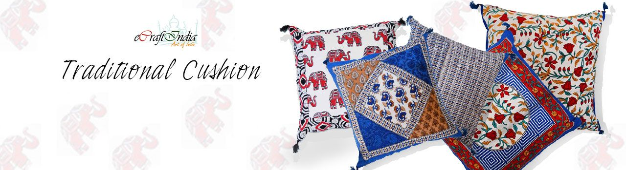 Traditional Cushion Buy 5 for Rs 399 - http://www.grabbestoffers.com/coupon/traditional-cushion-buy-5-for-rs-399/
