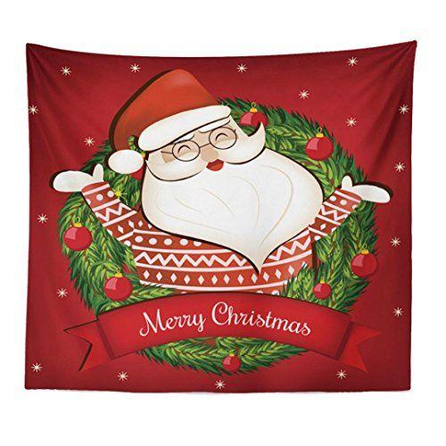 amuster weihnachten deko tapisserie wand hängende