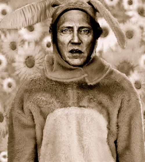 Walken Show The Kids This Pic When They Ask Bout Easter Bunny